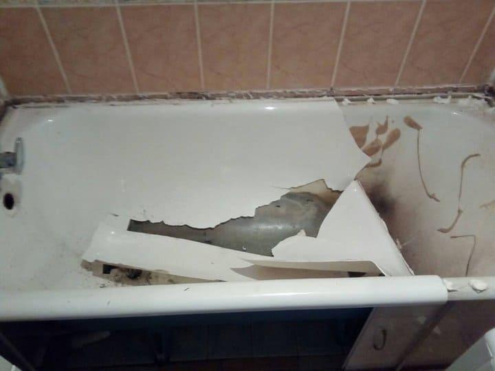 ванна до реставрации в Минске