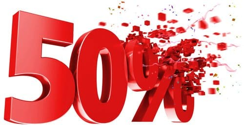 Возможна ли скидка на наливную ванну 50%?