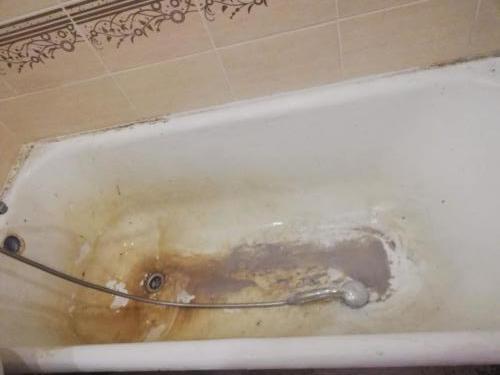 Ванна до эмалировки
